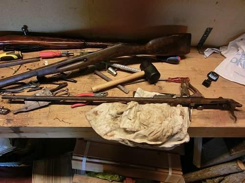 Mosin Nagant restoration/preservation