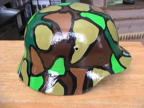 M35 helmet nice paint job