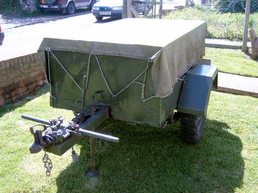 british airborne trailer
