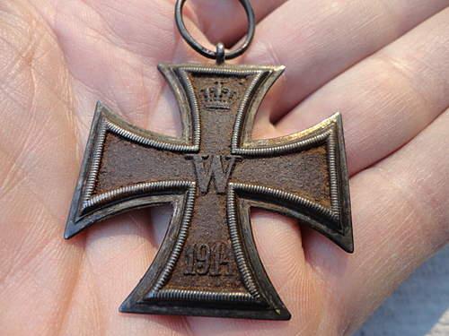 Iron Cross, possible restoration?