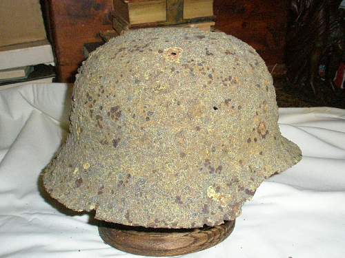 Can I use CLR on this Helmet? Revisited  More Pics