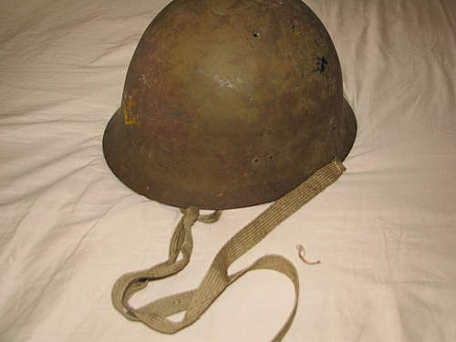IJN Type-90 Helmet: How to preserve?