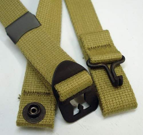 Difference between chin straps.