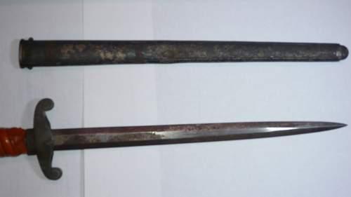 Question on dagger restoration?