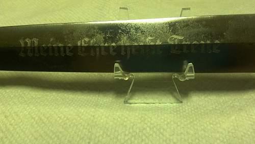 SS Dagger Blade Restoration