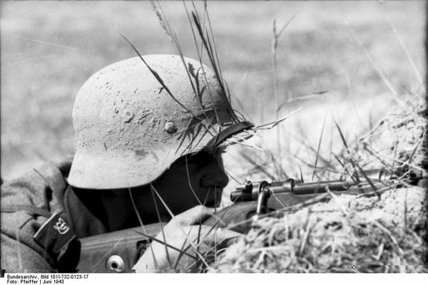 Image result for ww2 german soldier with sand colour helmet