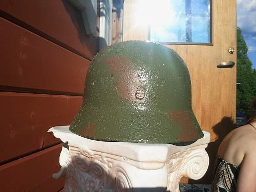 How to paint Stahlhelm camo?