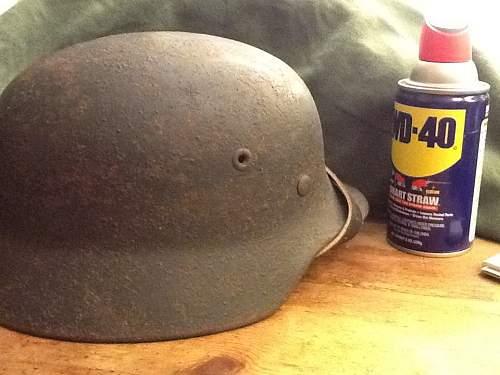 M40 helmet!