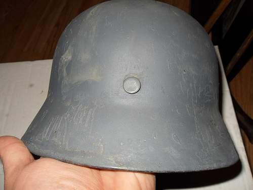 German helmet restoration