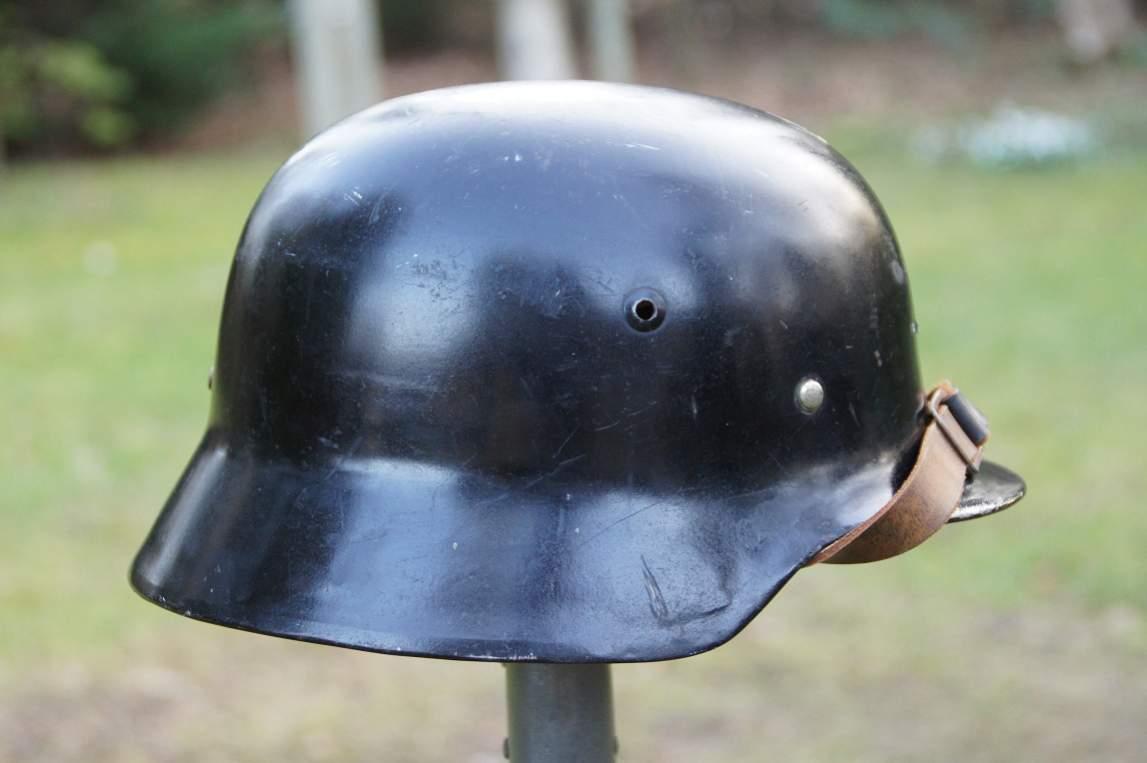 WW2 German Helmet M35 air vents couple