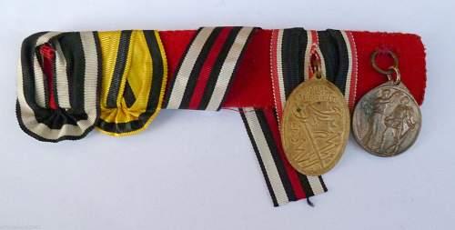 Ww1 medalbar needing a fixup