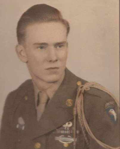 Rebuilt my Grandfathers 101st Airborne uniform.