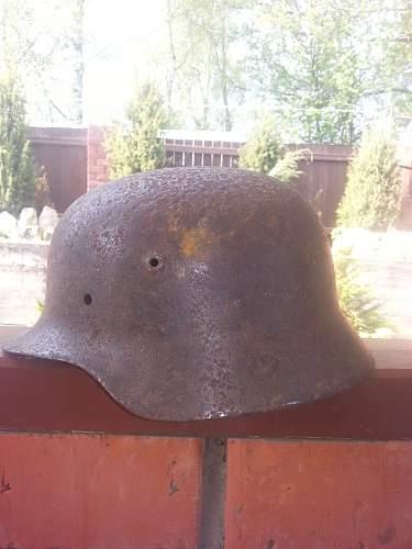 M40 - first helmet, restored (sorry!)