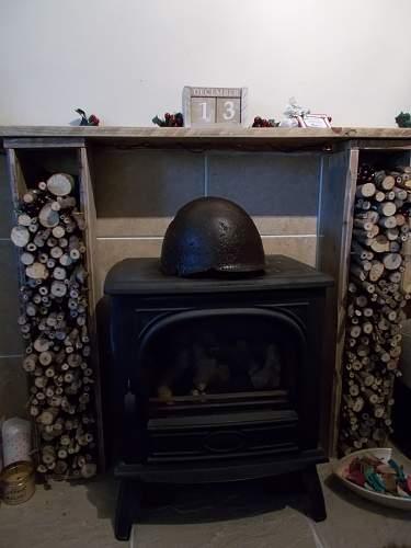 Ssh40 relic helmet refurbishment