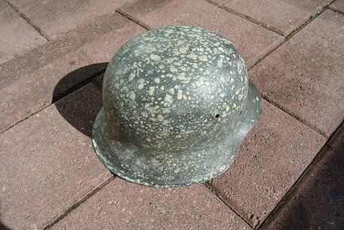 My M42 helmet from POLAND.