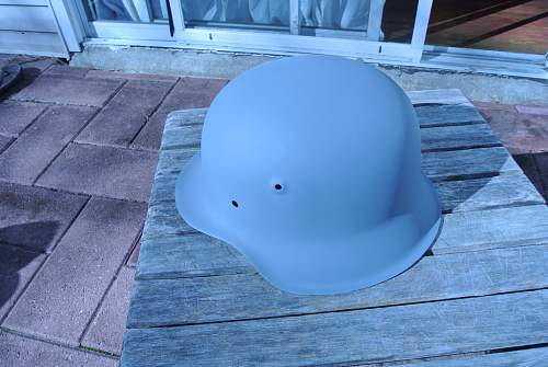 My M42 helmet from POLAND.