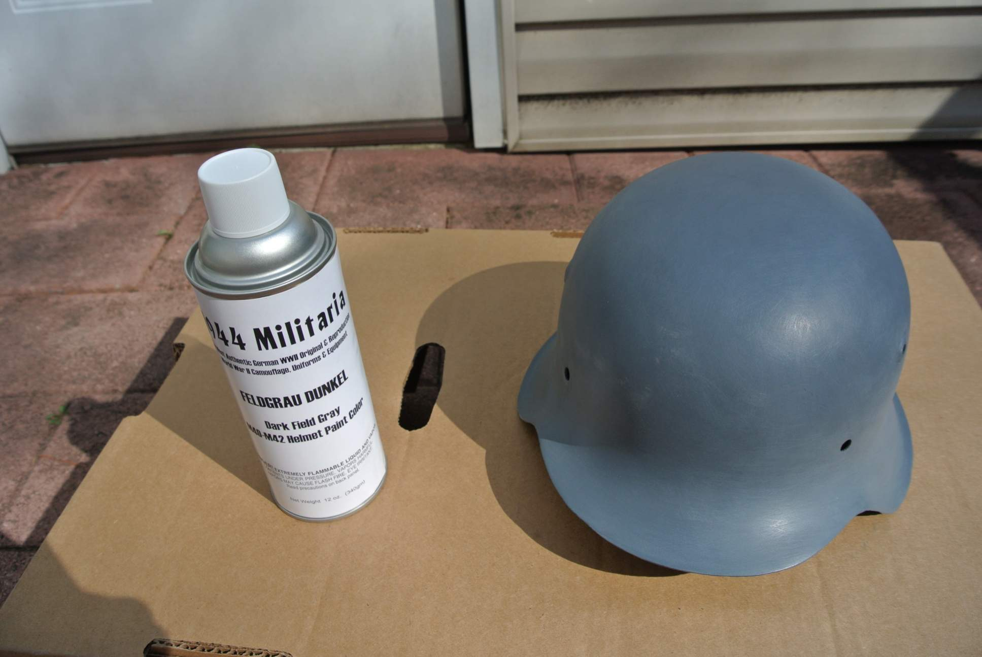 how to make a paper world war 2 helmet