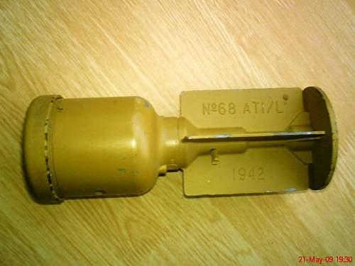 No. 68 Grenade restoration project.