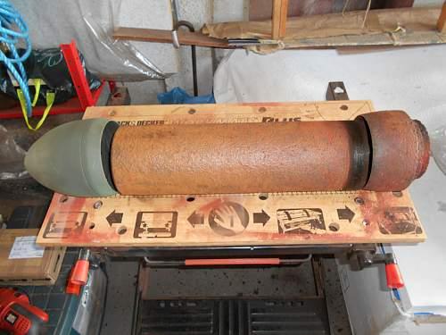 Nebelwerfer 15cm Rocket