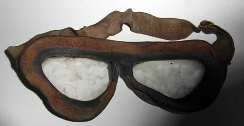 Restoration of Model 295 Luftwaffe Goggles