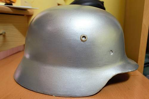 German M40 restoration