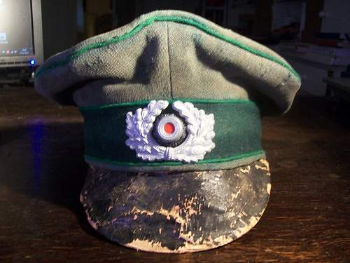 "Restoring a german ""crusher cap"""