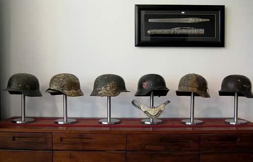 Displaying Helmets?