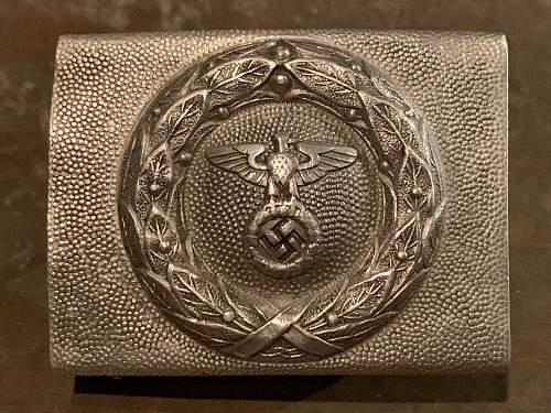 DLV / RLB Enlisted Man's belt buckle