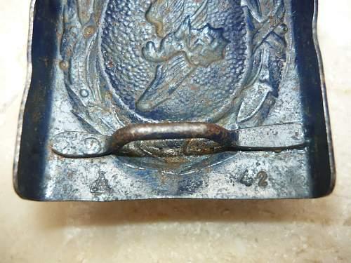 Need oppinion on Reichsluftschutsbund belt buckle in Steel