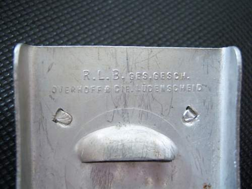 German ww2 luftschutz rlb buckle-mint?