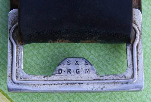 Luftschutz buckle