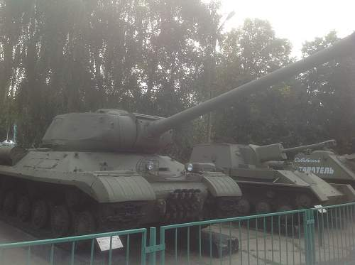 Tanks at the Central Armed Forces Museum