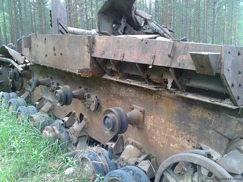 Panzer 3 target practice in the 60s?