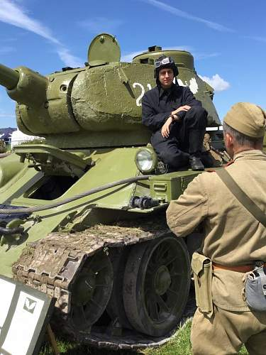 Soviet T-34 inside and out
