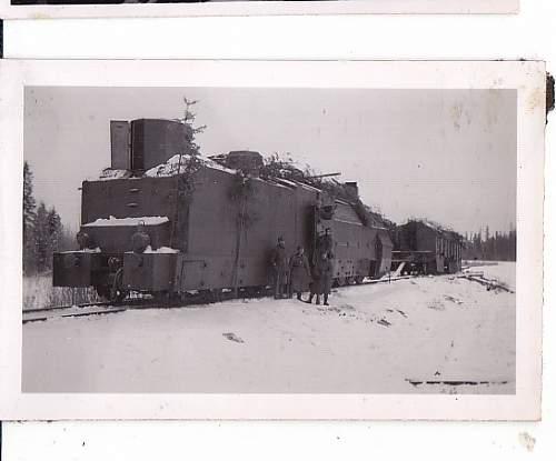 Armored train?