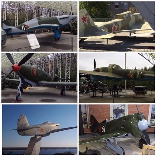 Soviet WW2 Aircraft I have photographed in Russia