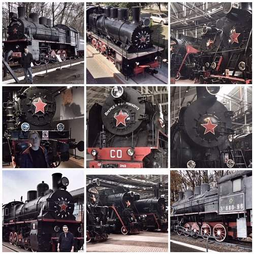 Wartime Soviet Steam Locomotive's I have photographed in Russia