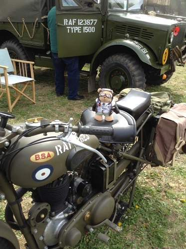 Wartime Motor Cycles I have photographed around Europe
