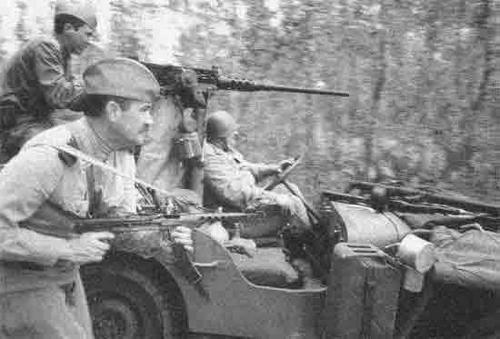 US and british armor in soviet hands