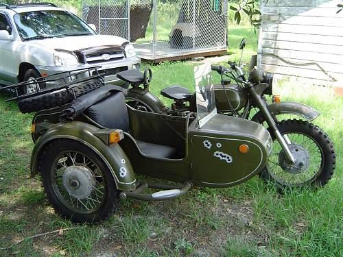 Soviet Motorcycle Markings