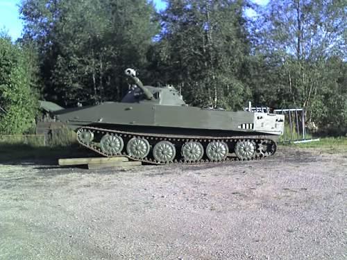 Russian PT-76