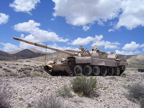 How about a T-72 in Nevada!
