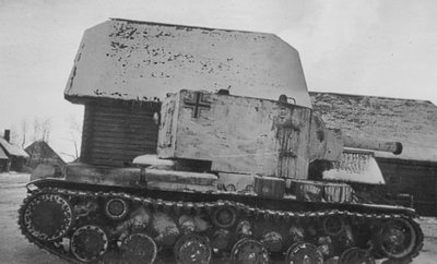 KV 2 Soviet Russian tanks, abandoned and destroyed