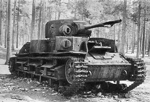 T-28 soviet tank. One of my favorites