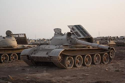 Russian tanks in the Taji Iraq area