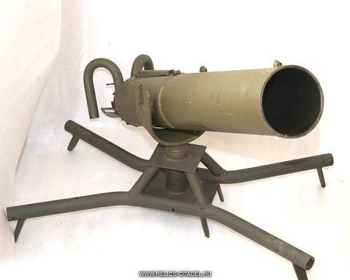 Soviet ampoulethrower/mortar