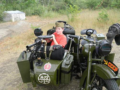 Soviet motorcycle