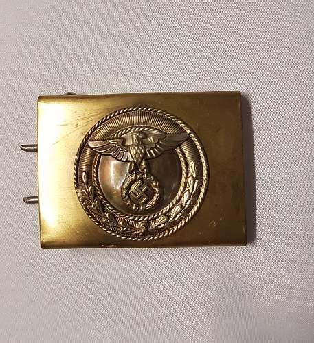 Fake ss buckle?