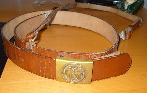 Question - SA Belts one Colour only ?