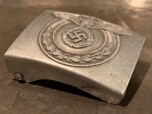SA-Wehrmannschaft EM / NCO's Belt Buckle